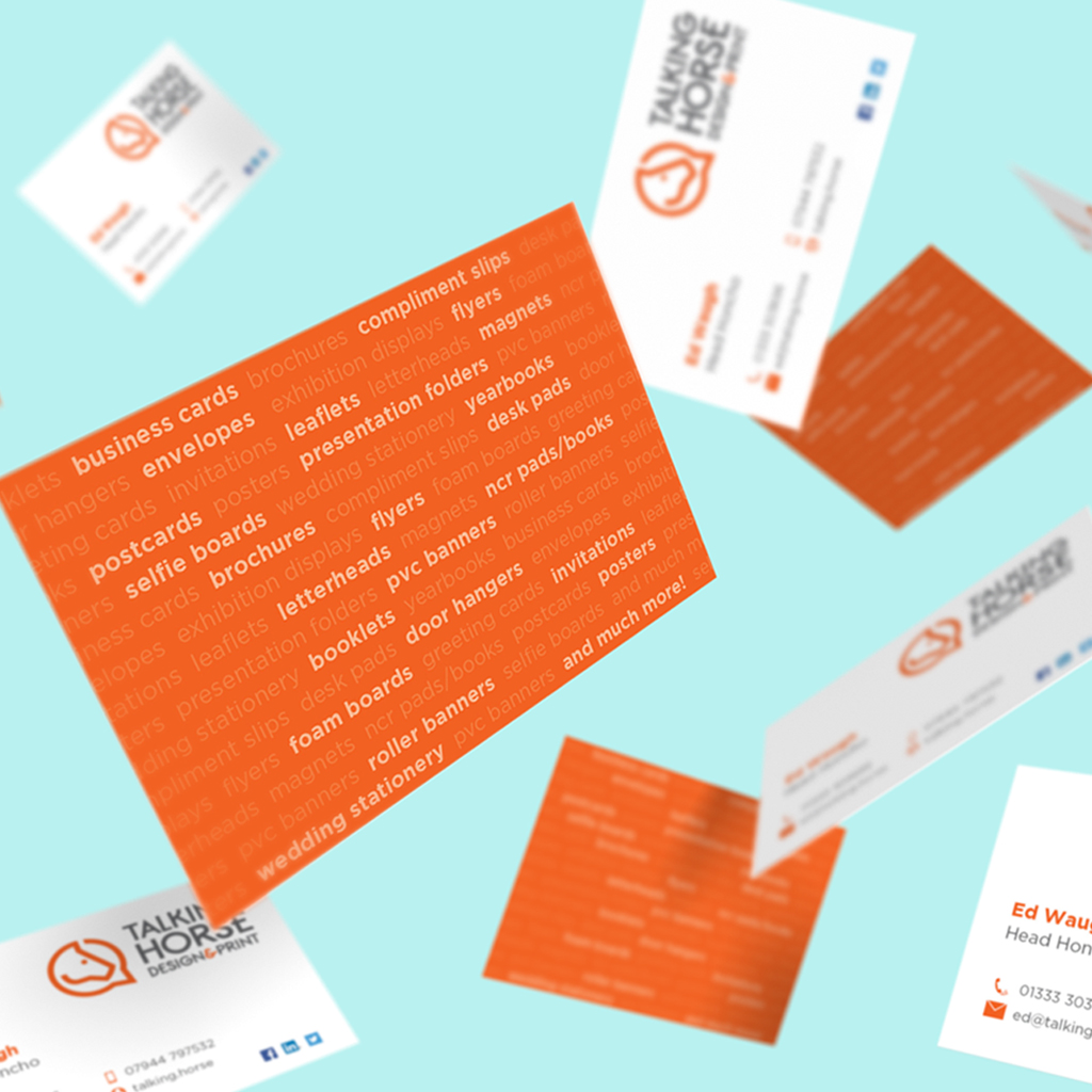 Standard Business Cards | Laminated - Talking Horse Design & Print